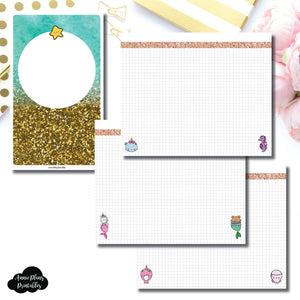 Cahier TN Size | MommyLhey Designs Collaboration Plain Grid Printable Insert ©