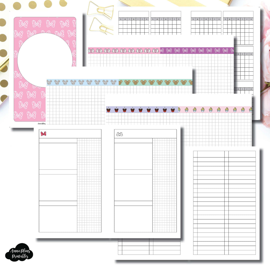 Mini HP Size | Magical Plans Collaboration Printable Insert ©