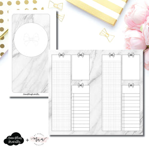 Personal Rings Size | Undated Daily MyNewestAddiction Collaboration Printable Insert ©