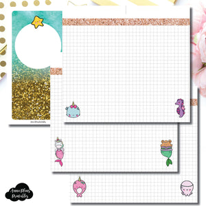 Personal Rings Size | MommyLhey Designs Collaboration Plain Grid Printable Insert ©