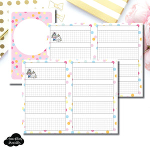 Pocket TN Size | ShineStickerStudio Collaboration Printable Insert