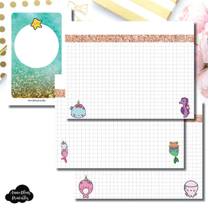 Pocket Rings Size | MommyLhey Designs Collaboration Plain Grid Printable Insert ©