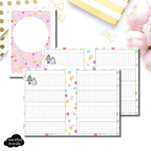 A6 Rings Size | ShineStickerStudio Collaboration Printable Insert