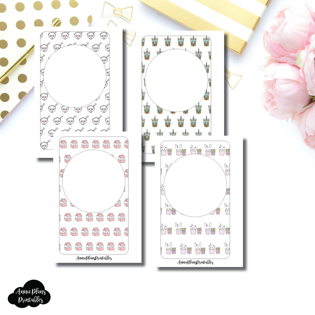 Pocket Rings Size | NSFWbyCA Collab Blank Printable Covers for Inserts ©