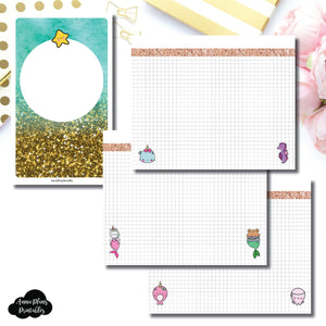 B6 Slim TN Size | MommyLhey Designs Collaboration Plain Grid Printable Insert ©