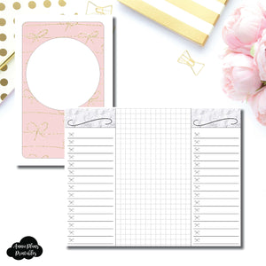 Pocket TN Size | List + Grid Collaboration Printable Insert