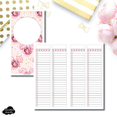 Standard TN Size | Digital Dash by Planner Press List Collaboration Printable Insert