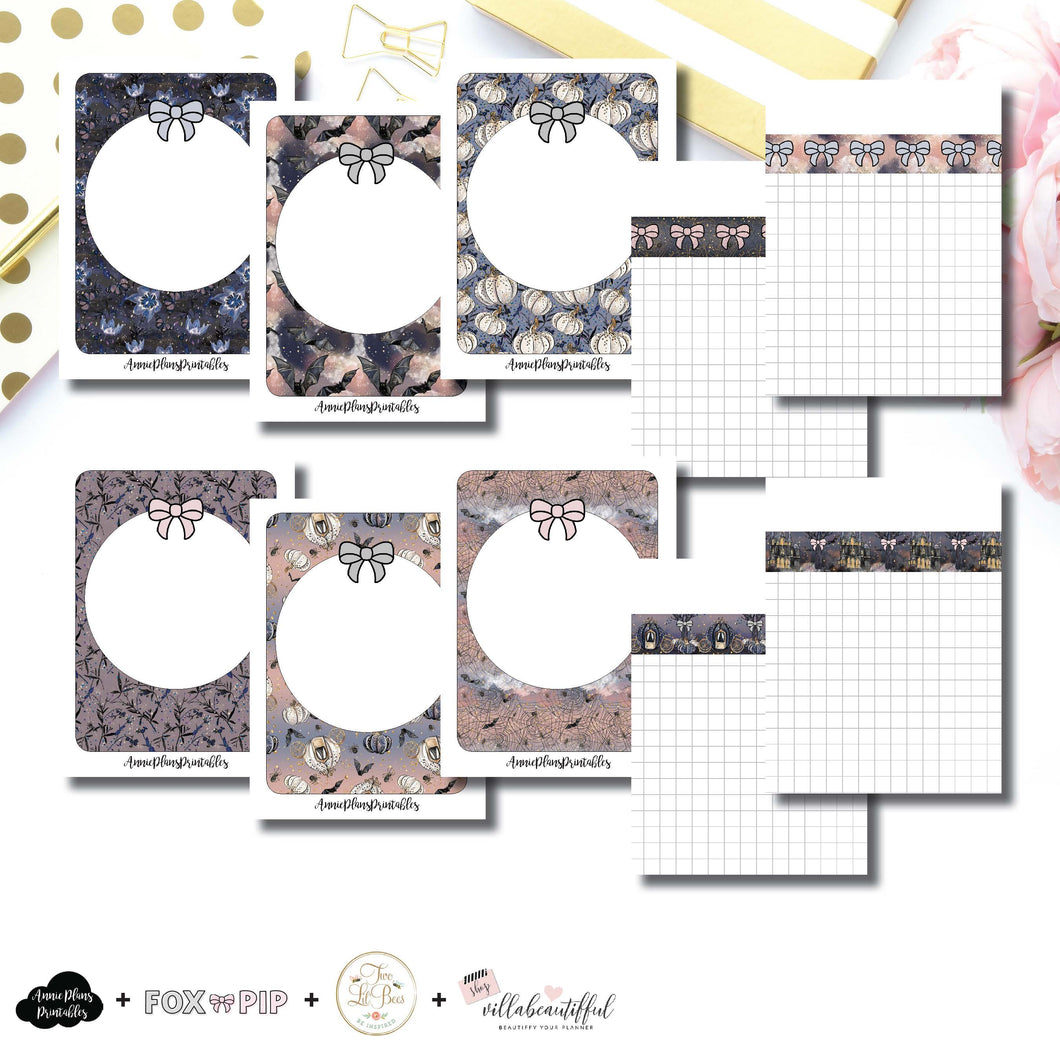 Micro TN Size | Blank Covers + Undated Grid Collaboration Printable Insert ©