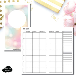 Personal TN Size | Lesson Planner Printable Insert ©