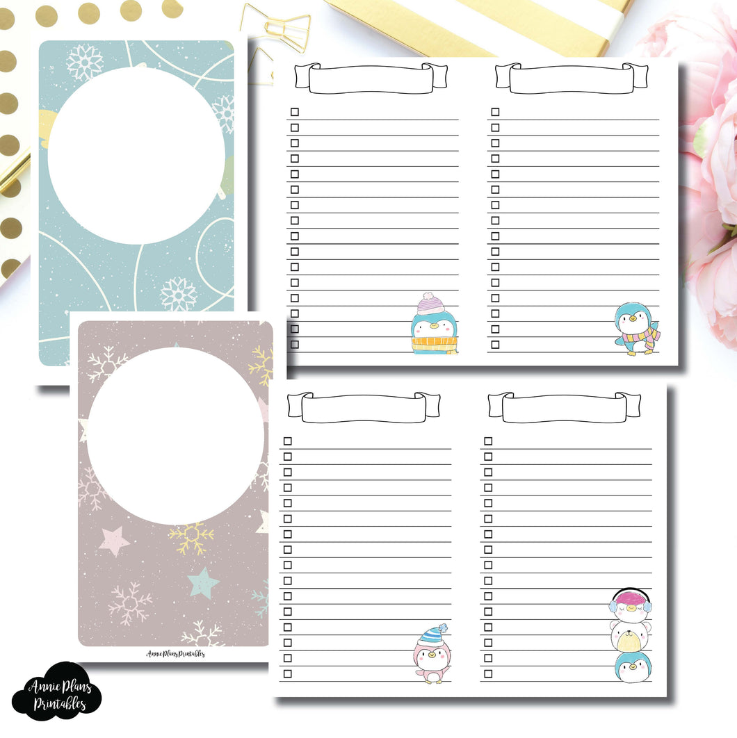 POCKET TN SIZE | Happie Scrappie Collaboration Lists Printable Insert ©