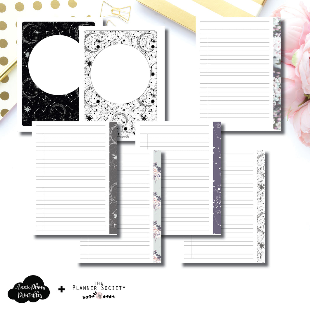 A5 Wide Rings Size | LIMITED EDITION: NOV TPS List Collaboration Printable Insert ©