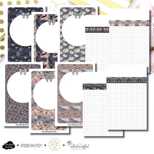 Pocket TN Size | Blank Covers + Undated Grid Collaboration Printable Insert ©