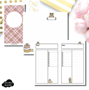 PERSONAL TN SIZE | Grumpy Bear Daily Collab Printable Insert ©