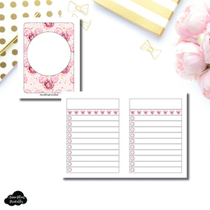 Micro TN Size | Digital Dash by Planner Press List Collaboration Printable Insert