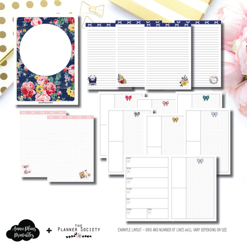 Personal Rings Size | Limited Edition TPS September Collaboration Printable Insert ©