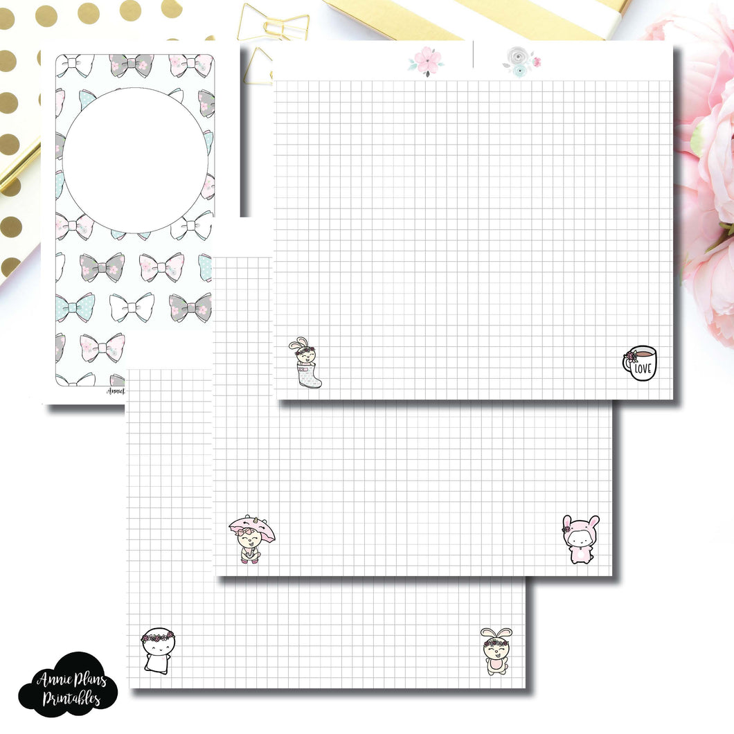 Personal Rings Size | theCoffeeMonsterzco & Sparkly Paper Co Collab Grid Printable Insert ©