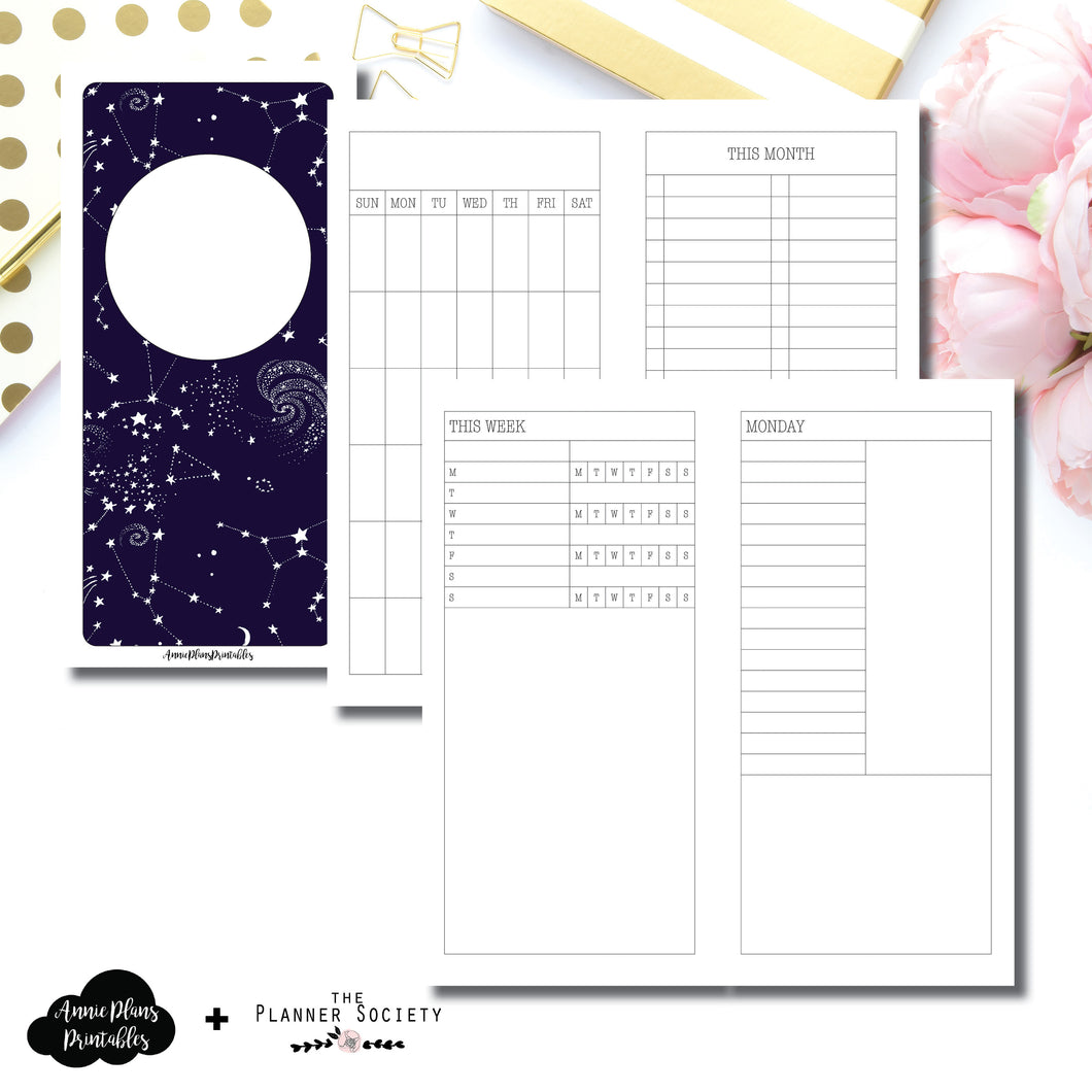 HWeeks Wide Size | LIMITED EDITION: NOV TPS Undated Daily Collaboration Printable Insert ©
