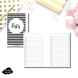 Pocket Rings SIZE | Lists Printable Insert ©