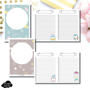 B6 TN SIZE | Happie Scrappie Collaboration Lists Printable Insert ©
