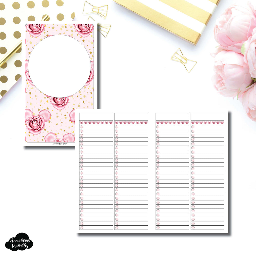 Cahier TN Size | Digital Dash by Planner Press List Collaboration Printable Insert