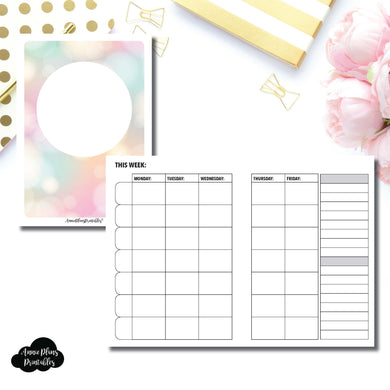 Classic HP Size | Lesson Planner Printable Insert ©
