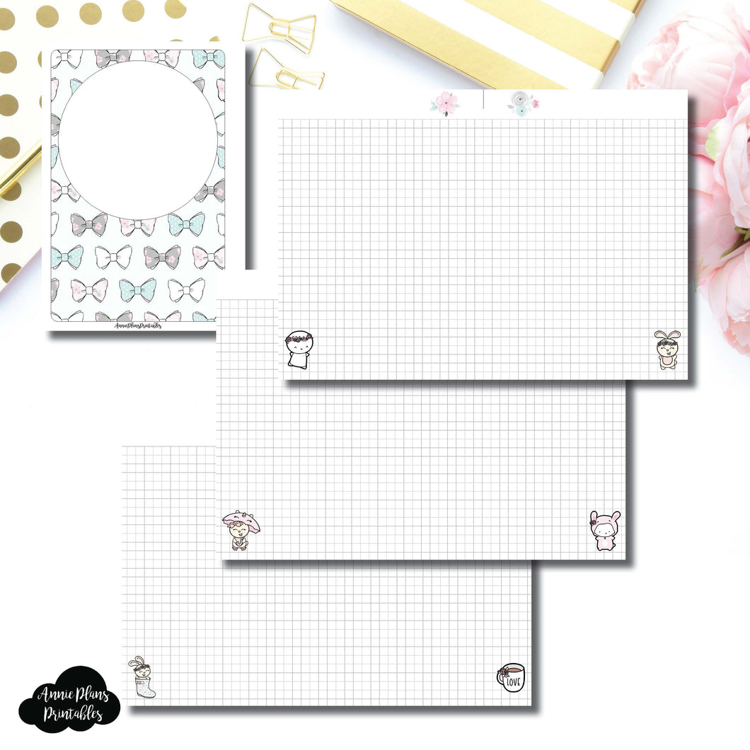 Personal Wide Rings Size | theCoffeeMonsterzco & Sparkly Paper Co Collab Grid Printable Insert ©