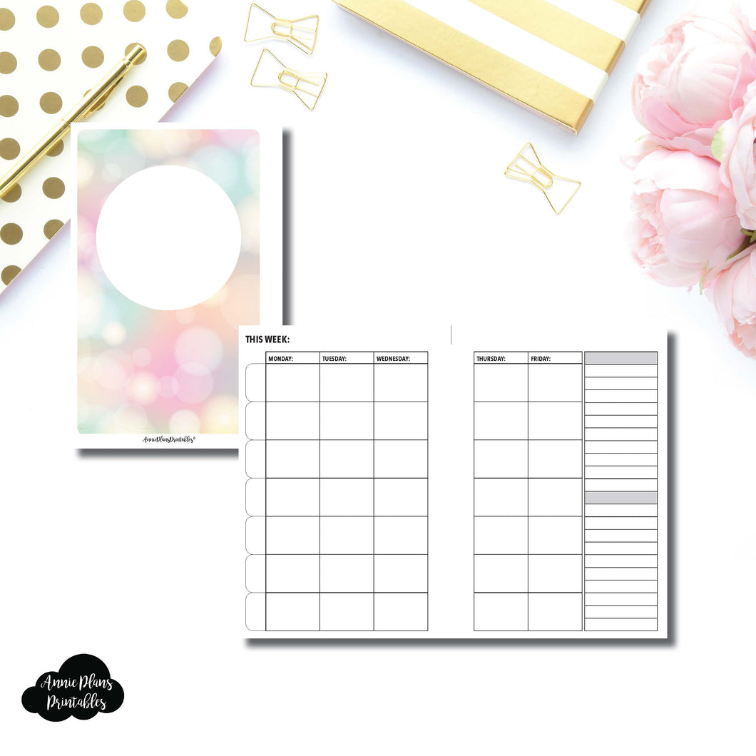 Mini HP Size | Lesson Planner Printable Insert ©