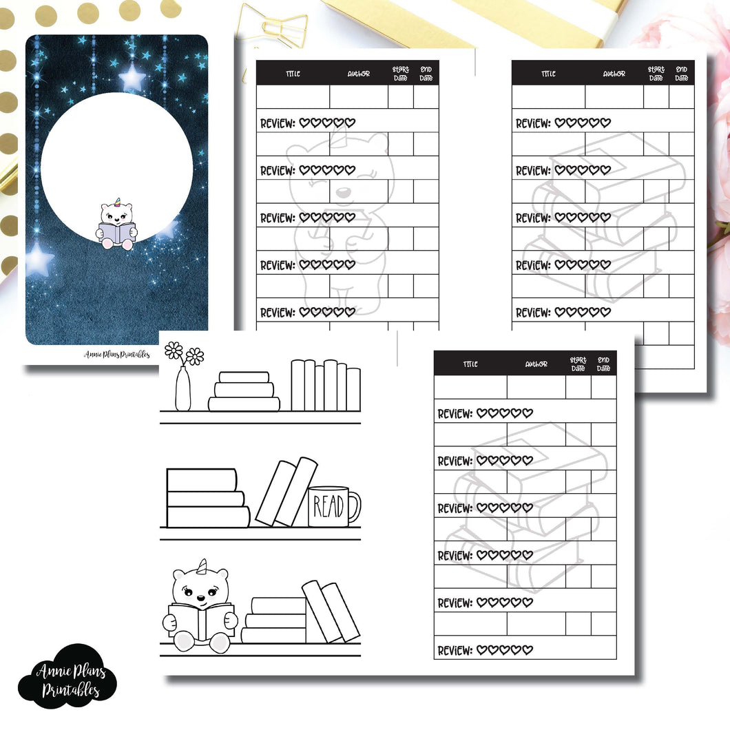 Pocket Rings Size | SpotDrop Collaboration Reading Book Log Printable Insert ©