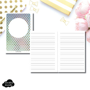Personal Wide Rings Size | Hand Lettering/Calligraphy Practice Sheet Printable Insert ©