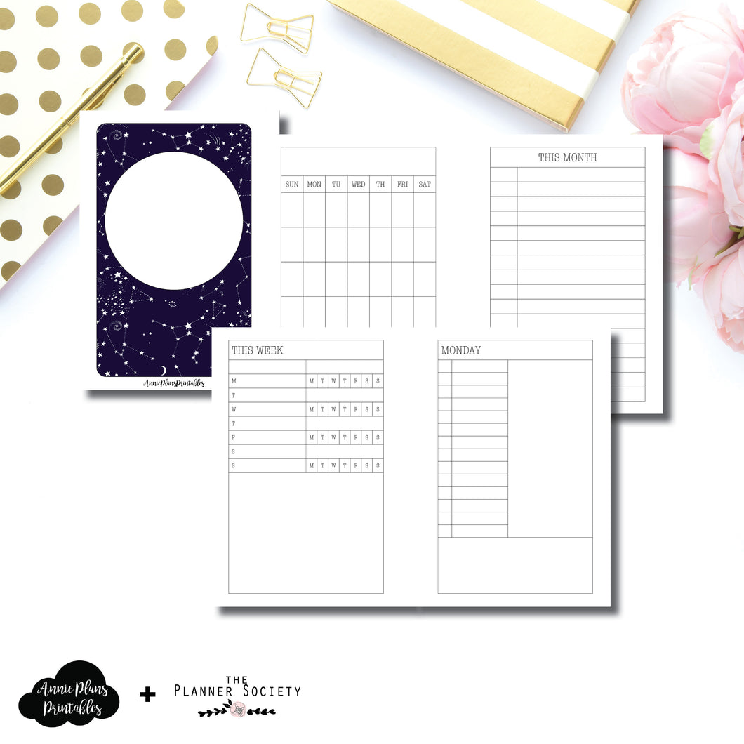 Pocket Plus Rings Size | LIMITED EDITION: NOV TPS Undated Daily Collaboration Printable Insert ©