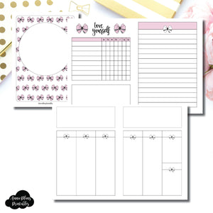 A6 TN Size | Undated Week on 2 Weeks Shell's Scribbles Collaboration Printable Insert ©
