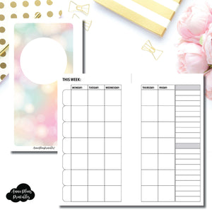 Personal Rings Size | Lesson Planner Printable Insert ©