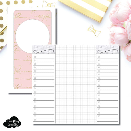 Personal Rings Size | List + Grid Collaboration Printable Insert