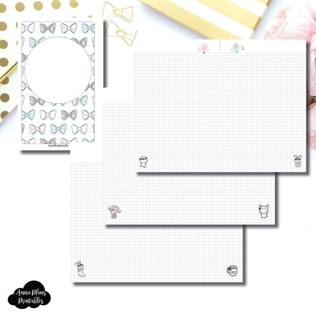 Mini HP Size | theCoffeeMonsterzco & Sparkly Paper Co Collab Grid Printable Insert ©