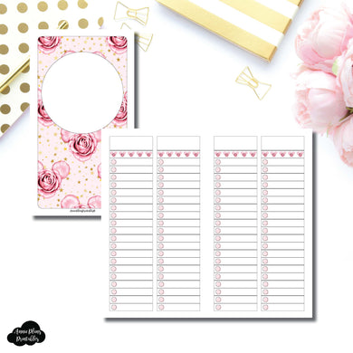 Personal TN Size | Digital Dash by Planner Press List Collaboration Printable Insert