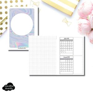 A6 Rings Size | 18 Month (July 2018 - December 2019) Forward Planning Printable Insert ©