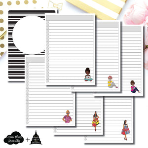 B6 TN Size | Capital Chic Designs Collaboration LIST Printable Insert ©