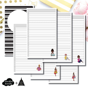 Cahier TN Size | Capital Chic Designs Collaboration LIST Printable Insert ©