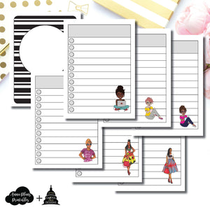 Micro TN Size | Capital Chic Designs Collaboration LIST Printable Insert ©