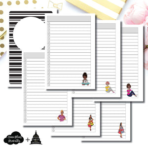 Mini HP Size | Capital Chic Designs Collaboration LIST Printable Insert ©