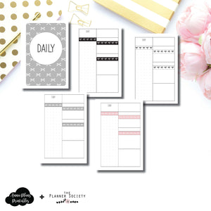 A6 Rings Size | Limited Edition TPS Bow Bundle Collaboration Printable Inserts ©