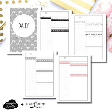 FC Rings Size | Limited Edition TPS Bow Bundle Collaboration Printable Inserts ©