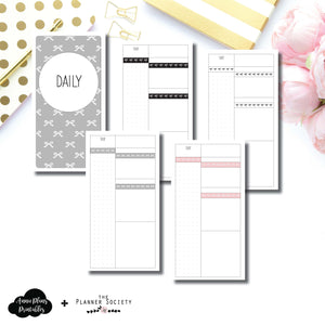 Standard TN Size | Limited Edition TPS Bow Bundle Collaboration Printable Inserts ©