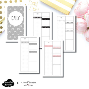 Personal Rings Size | Limited Edition TPS Bow Bundle Collaboration Printable Inserts ©