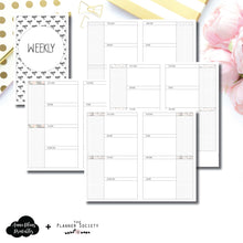 Cahier TN Size | Limited Edition TPS Bow Bundle Collaboration Printable Inserts ©