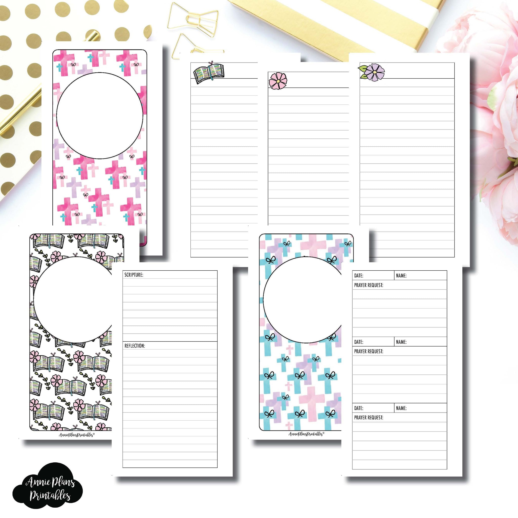 Personal Rings Size | Devotional Bundle Printable Inserts ©