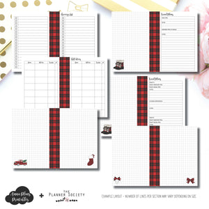 Classic HP Size | 2018 Holiday Planning TPS Collaboration Printable Insert ©