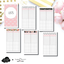 Mini HP Size | Limited Edition TPS Bow Bundle Collaboration Printable Inserts ©