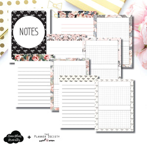 Micro TN Size | Limited Edition TPS Bow Bundle Collaboration Printable Inserts ©