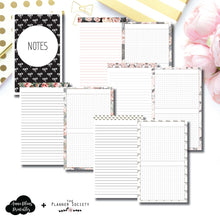 Half Letter Rings Size | Limited Edition TPS Bow Bundle Collaboration Printable Inserts ©